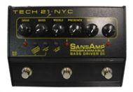 Sansamp Tech 21 Bass Driver programmable