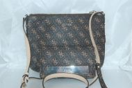 GUESS CROSS BODY PURSE WITH MATCHING WALLET