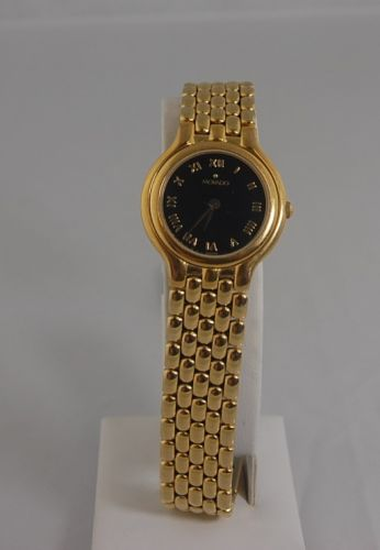 MOVADO GOLD TONE STAINLESS STEEL WATCH