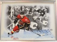ALEX TANGAY SIGNED CANVAS PICTURE