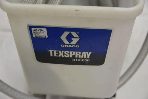 Graco RTX650 TexSpray