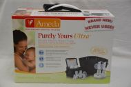 Ameda Purely Yours ULTRA Breast Pump NEVER USED!