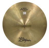 A Zildjian Rock Crash 18' cymbal