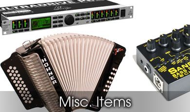 Miscellaneous Musical Equipment